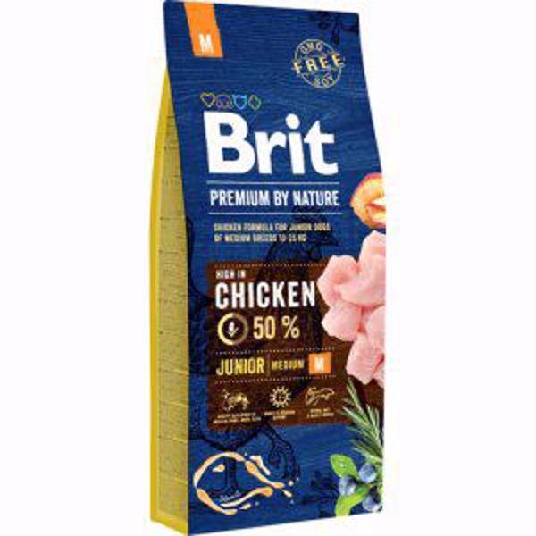 Brit Prem. By Nature Junior M 15 kg.