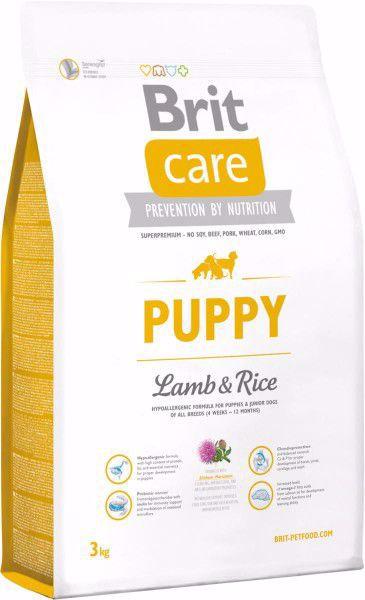 Brit Care Puppy Lam&Ris 3 kg.