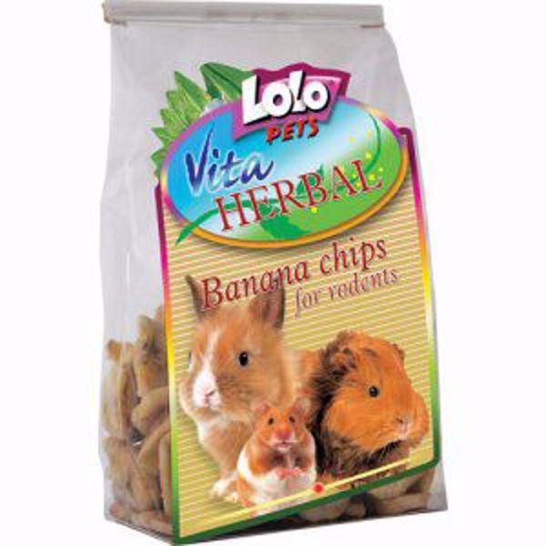 Lolo Vita Herbal Tørret Banan 100 gr.
