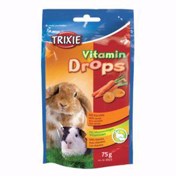 Vitamindrops Gulerod til Gnavere