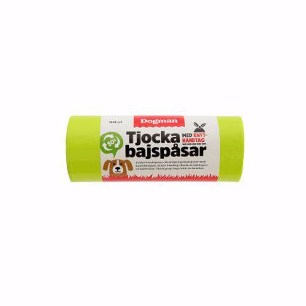 HømHømpose m/knyt 50 stk. Lime